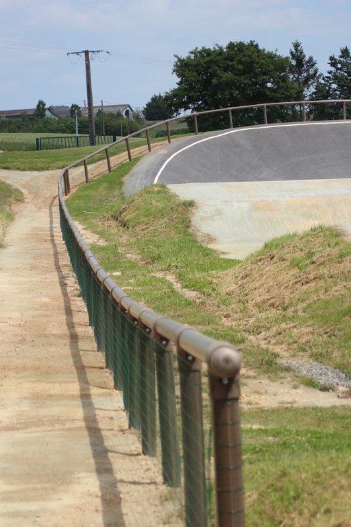 Aménagement Sécurité parcours BMX